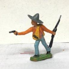 Figuras de Goma y PVC: FIGURA MEJICANO STARLUX CLAIRET OESTE WESTERN COWBOY NO PECH REMASA JECSAN COMANSI. Lote 231086125