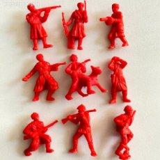 Figuras de Borracha e PVC: LOTE 9 FIGURAS MUÑECOS DUNKIN SOLDADOS RUSOS DE HAZAÑAS Y COMBATES. Lote 231156115