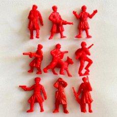 Figuras de Borracha e PVC: LOTE 9 FIGURAS MUÑECOS DUNKIN SOLDADOS RUSOS DE HAZAÑAS Y COMBATES. Lote 231156190