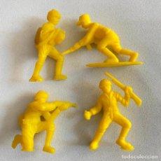 Figuras de Borracha e PVC: LOTE 4 FIGURAS MUÑECOS DUNKIN SOLDADOS JAPONESES DE HAZAÑAS Y COMBATES. Lote 231156485