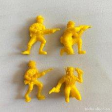 Figuras de Borracha e PVC: LOTE 4 FIGURAS MUÑECOS DUNKIN SOLDADOS JAPONESES DE HAZAÑAS Y COMBATES. Lote 231156635