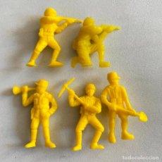 Figuras de Borracha e PVC: LOTE 5 FIGURAS MUÑECOS DUNKIN SOLDADOS JAPONESES DE HAZAÑAS Y COMBATES. Lote 231156775