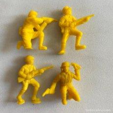 Figuras de Borracha e PVC: LOTE 4 FIGURAS MUÑECOS DUNKIN SOLDADOS JAPONESES DE HAZAÑAS Y COMBATES. Lote 231156835