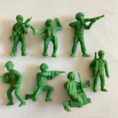 Figuras de Borracha e PVC: LOTE 7 FIGURAS MUÑECOS DUNKIN SOLDADOS AMERICANOS DE HAZAÑAS Y COMBATES. Lote 231157005