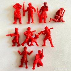 Figuras de Borracha e PVC: LOTE 9 FIGURAS MUÑECOS DUNKIN SOLDADOS RUSOS DE HAZAÑAS Y COMBATES. Lote 231155840