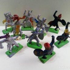 Figuras de Goma y PVC: LOTE DE CRUZADOS Y SARRACENOS BRITAINS DEETAIL LTD 1971-MEDIEVAL. Lote 231252900
