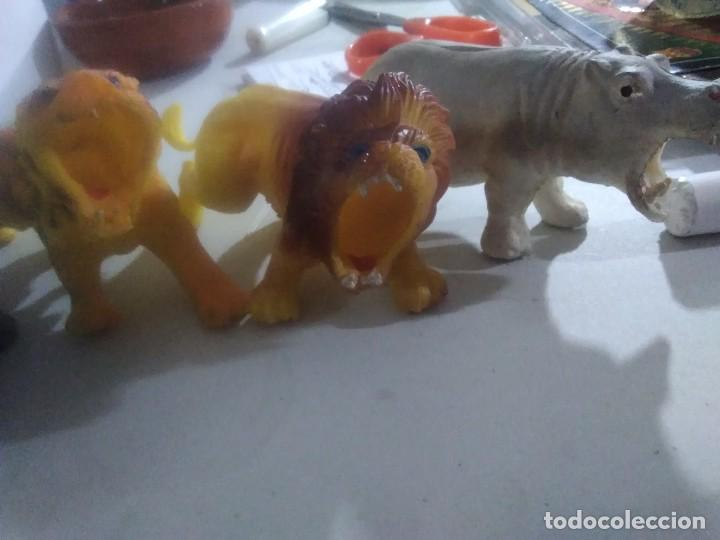 Figuras de Goma y PVC: 5 muñecos goma salvajes animales años 80/90 made in China - Foto 4 - 231310860