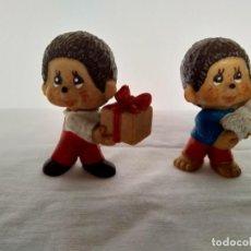 Figuras de Goma y PVC: LOTE 2 FIGURAS VIRKIKI. DE BULLY 1981 1982. MADE IN GERMANY.. Lote 231342240