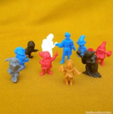 Figuras de Goma y PVC: BLANCANIEVES / DISNEY / TIPO DUNKIN. ROCHE AUX FEES / SERIE COMPLETA.. Lote 231367040