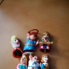 Figuras Kinder: LOTE MUÑECOS KINDER. Lote 231699140