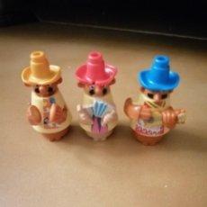 Figuras Kinder: MUÑECO FIGURA KINDER MEXICANOS MEJICANOS. Lote 231701495