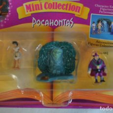 Figuras de Borracha e PVC: POCAHONTAS. MINI COLLECTION DISNEY. REF. 16656. MATTEL. ROMANJUGUETESYMAS.. Lote 231898815