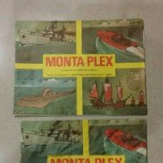 Figuras de Goma y PVC: LOTE DE DOS SOBRES VACÍOS MONTAPLEX N 402 DIFERENTES. Lote 231906230