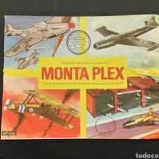 Figuras de Goma y PVC: SOBRE VACÍO MONTAPLEX N 422 TRASERA EN AZUL. Lote 231908125