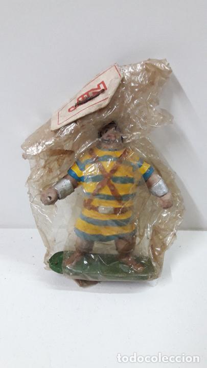 Figuras de Goma y PVC: GOLIATH - BLISTER ORIGINAL . REALIZADO POR JIN . SERIE CAPITAN TRUENO . ORIGINAL AÑOS 50 EN GOMA - Foto 2 - 231946020