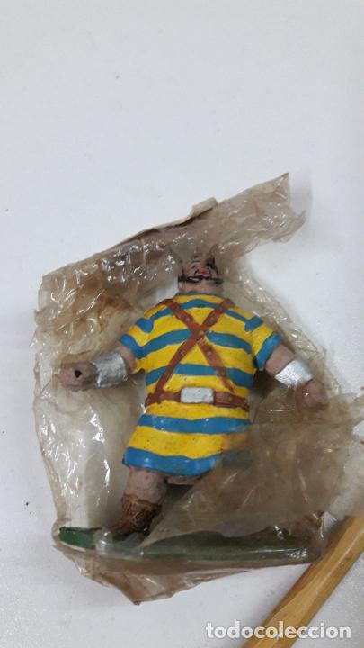 Figuras de Goma y PVC: GOLIATH - BLISTER ORIGINAL . REALIZADO POR JIN . SERIE CAPITAN TRUENO . ORIGINAL AÑOS 50 EN GOMA - Foto 6 - 231946020
