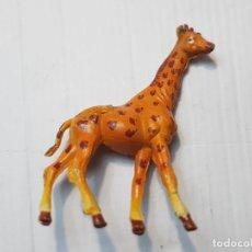 Figurines en Caoutchouc et PVC: FIGURA CAPELL JIRAFA GOMA DURA SERIE FIERAS TOTALMENTE ORIGINAL. Lote 231955305