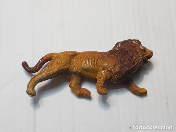 Figuras de Goma y PVC: Figura Capell Leon Goma dura serie Fieras totalmente original - Foto 2 - 231955585