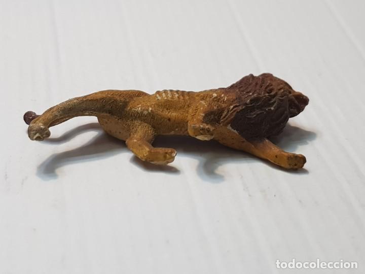 Figuras de Goma y PVC: Figura Capell Leon Goma dura serie Fieras totalmente original - Foto 4 - 231955585