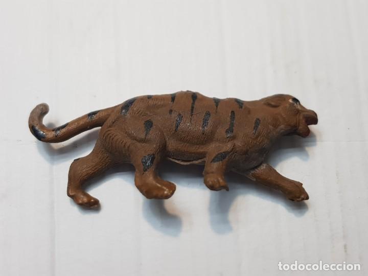Figuras de Goma y PVC: Figura Capell Tigre Bengala Goma dura serie Fieras totalmente original - Foto 2 - 231956345