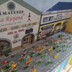 Figurines en Caoutchouc et PVC: CICLISTAS SOTORRES EN DIORAMA. Lote 232284625