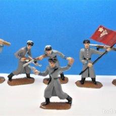 Figuras de Borracha e PVC: ANTIGUAS FIGURAS COMANSI. SERIE SOLDADOS RUSOS. NO COMPRAR RESERVADO VICTORIANO. Lote 232310675