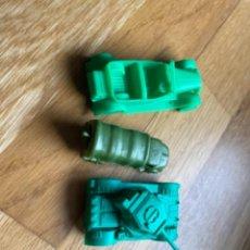 Figuras de Goma y PVC: MONTAPLEX CAMIONES TANQUES MILITARES. Lote 232315990