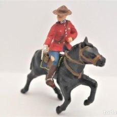 Figurines en Caoutchouc et PVC: ANTIGUAS FIGURAS EN PLÁSTICO. SERIE POLICIA MONTADA DEL CANADA. REAMSA.. Lote 232595795