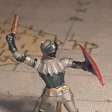 Figurines en Caoutchouc et PVC: ELASTOLIN HISTOREX MEDIEVAL. Lote 232863935