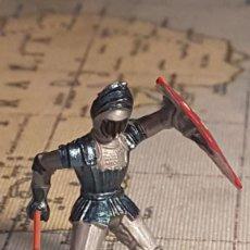 Figurines en Caoutchouc et PVC: ELASTOLIN HISTOREX MEDIEVAL. Lote 232864075