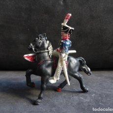 Figurines en Caoutchouc et PVC: LAFREDO GUERRAS NAPOLEONICAS FIGURA CON CABALLO. Lote 233037045