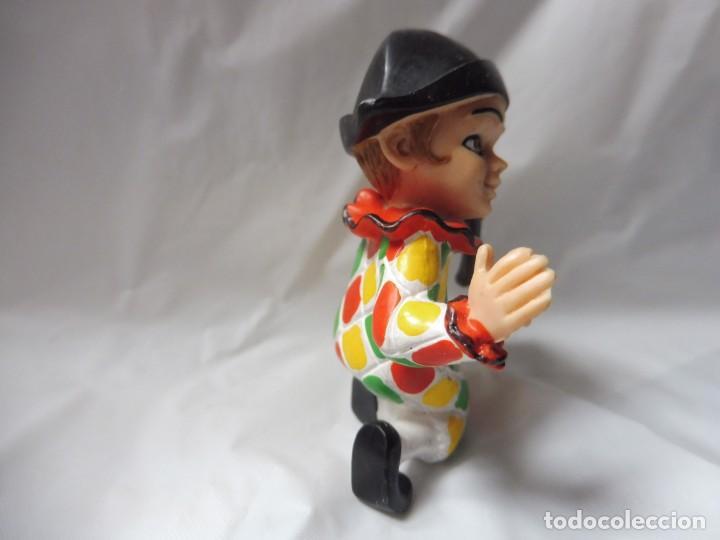 Figuras de Goma y PVC: Comics Spain figura pvc goma arlequín payaso carnaval circo con flauta años 80 - Foto 5 - 233151630