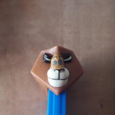Dispensador Pez: DISPENSADOR CARAMELOS PEZ ALEX MADAGASCAR DREAMWORKS. Lote 233240865