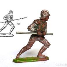 Figuras de Goma y PVC: MEDIEVAL REAMSA EN GOMA, CIRCA 1950, Nº 124 DEL CATÁLOGO.. Lote 233267155