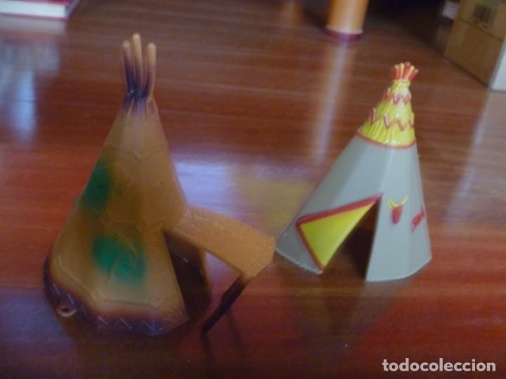 Figuras de Goma y PVC: TIENDAS INDIO COMANSI MÁS CANOA Y CACTUS - Foto 3 - 233416030