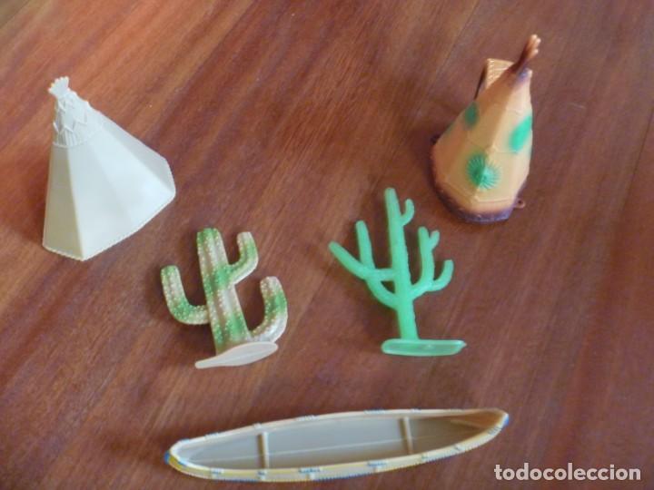 Figuras de Goma y PVC: TIENDAS INDIO COMANSI MÁS CANOA Y CACTUS - Foto 6 - 233416030