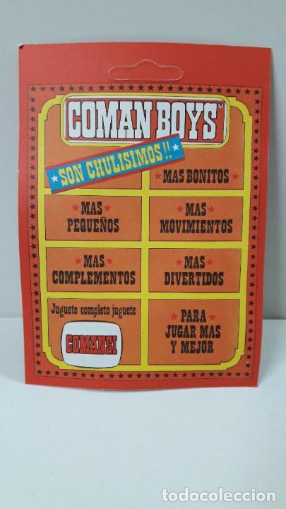 Figuras de Goma y PVC: BLISTER DE SOLDADO FEDERAL - COMAN BOYS . REALIZADO POR COMANSI . REF 630 ULTIMAS SERIES - Foto 2 - 233567705