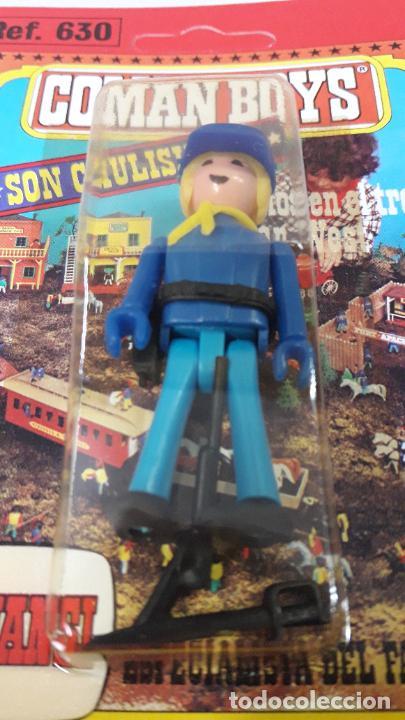 Figuras de Goma y PVC: BLISTER DE SOLDADO FEDERAL - COMAN BOYS . REALIZADO POR COMANSI . REF 630 ULTIMAS SERIES - Foto 5 - 233567705