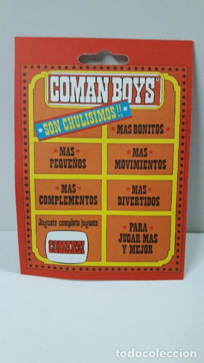 Figuras de Goma y PVC: BLISTER DE SOLDADO INDIO - COMAN BOYS . REALIZADO POR COMANSI . REF 630 ULTIMAS SERIES - Foto 2 - 233568105
