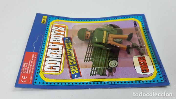 Figuras de Goma y PVC: BLISTER DE SOLDADOS DEL MUNDO - COMAN BOYS . REALIZADO POR COMANSI . REF 661 ULTIMAS SERIES - Foto 4 - 233568455