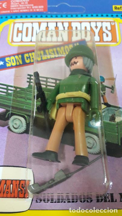 Figuras de Goma y PVC: BLISTER DE SOLDADOS DEL MUNDO - COMAN BOYS . REALIZADO POR COMANSI . REF 661 ULTIMAS SERIES - Foto 5 - 233568455