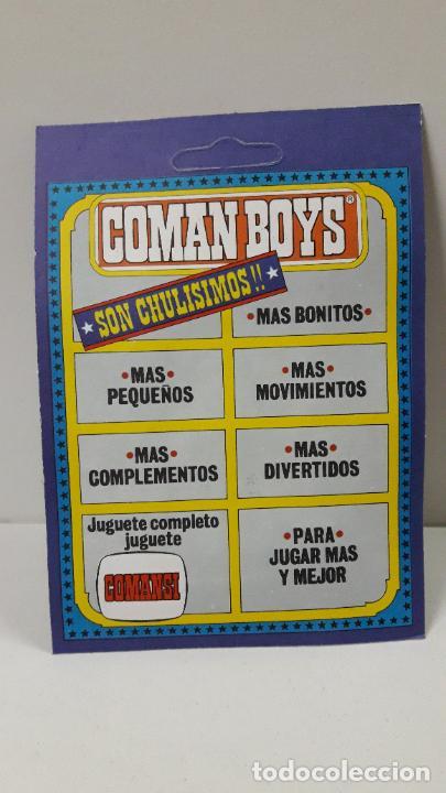 Figuras de Goma y PVC: BLISTER DE SOLDADOS DEL MUNDO - COMAN BOYS . REALIZADO POR COMANSI . REF 661 ULTIMAS SERIES - Foto 2 - 233568660