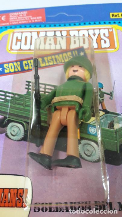 Figuras de Goma y PVC: BLISTER DE SOLDADOS DEL MUNDO - COMAN BOYS . REALIZADO POR COMANSI . REF 661 ULTIMAS SERIES - Foto 5 - 233568660