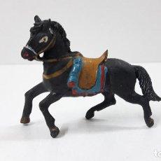 Figuras de Goma y PVC: CABALLO . REALIZADO POR TEIXIDO . ORIGINAL AÑOS 50 EN GOMA. Lote 233576400
