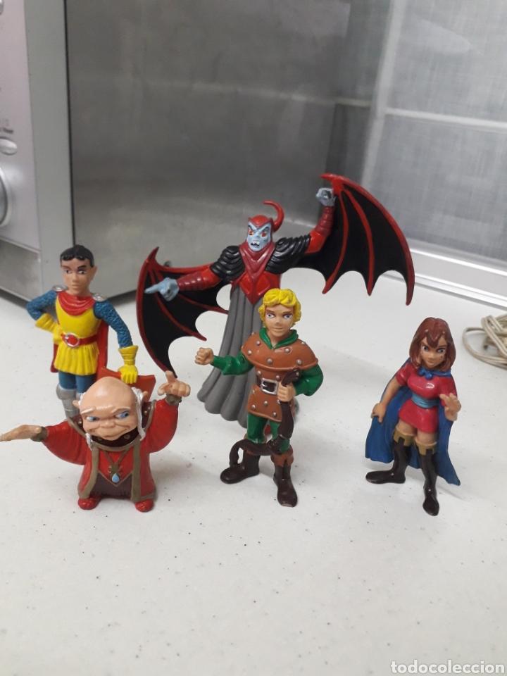 LOTE DE DRAGONES Y MAZMORRAS ORIGINALES (Juguetes - Figuras de Goma y Pvc - Comics Spain)