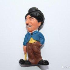 Figurines en Caoutchouc et PVC: KELLOGS FIGURA DE PVC PROMOCIONAL CHARLES CHAPLIN CHARLOT - 1989. Lote 233885275