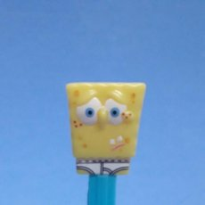 Dispensador Pez: DISPENSADOR CARAMELOS PEZ BOB ESPONJA NICKLOEON. Lote 233896670
