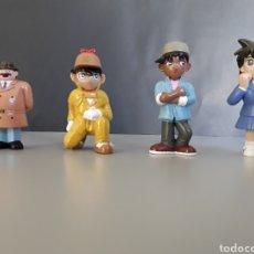 Figuras de Goma y PVC: LOTE 4 FIGURAS PVC SERIE DETECTIVE CONAN MANGA MARUKATSU NUEVAS. Lote 249082520