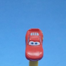 Dispensador Pez: DISPENSADOR CARAMELOS PEZ RAYO MCQUEEN CARS PIXAR. Lote 233897610