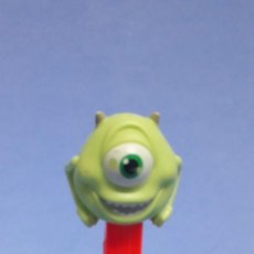 Dispensador Pez: DISPENSADOR CARAMELOS PEZ MIKE WAZOSKI PIXAR DISNEY MONSTRUOS S.A. Lote 233898420